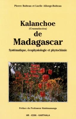 Livre : Kalanchoe (Crassulacées) de Madagascar